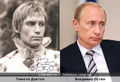 Тимоти Далтон напомнил Владимира Путина