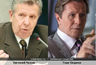 Евгений Чазов напомнил Гэри Олдмена