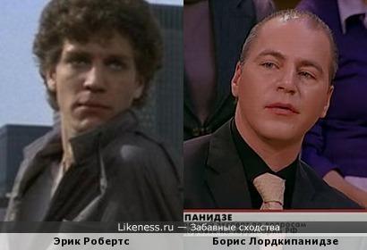 Молодой Эрик Робертс напомнил Бориса Лордкипанидзе