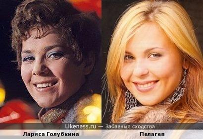 Молодая Лариса Голубкина напомнила Пелагею