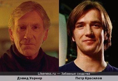 Лет через -дцать Петр Красилов будет похож на Дэвида Уорнера (надеюсь...)