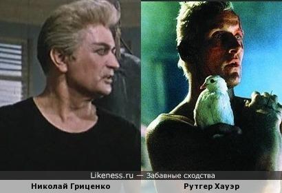 """Николай Гриценко (""""Вольный ветер"""") напомнил Рутгера Хауэра (""""Бегущий по лезвию бритвы"""")"""