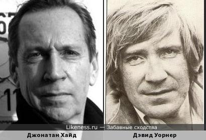 Джонатан Хайд и Дэвид Уорнер