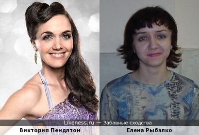 Виктория Пендлтон напомнила Елену Рыбалко