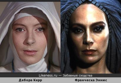 Дебора Керр похожа на Франческу Эннис