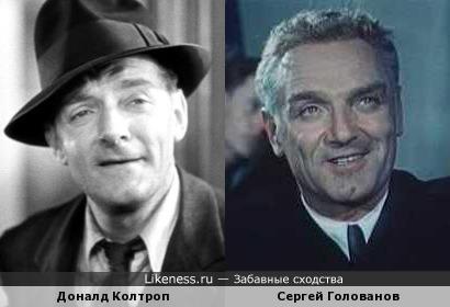 Доналд Колтроп напомнил Сергея Голованова
