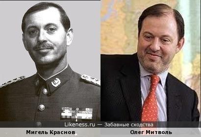Мигель (Михаил) Краснов и Олег Митволь