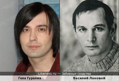 Гела Гуралиа напомнил Василия Ланового