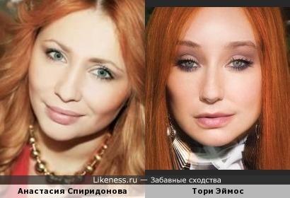 Анастасия Спиридонова и Тори Эймос