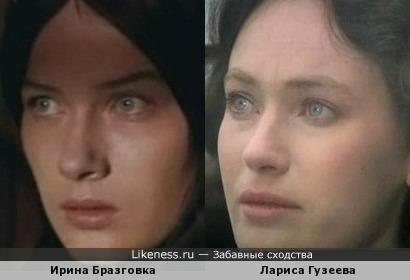 Ирина Бразговка напомнила Ларису Гузееву