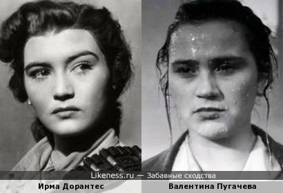 Ирма Дорантес напомнила Валентину Пугачевуа