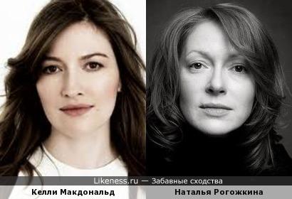 Келли Макдональд и Наталья Рогожкина