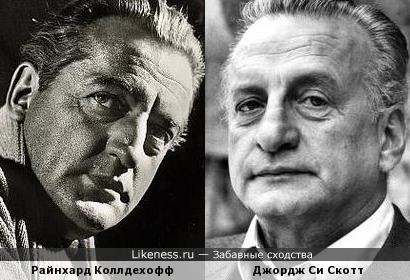 Райнхард Коллдехофф и Джордж Си Скотт