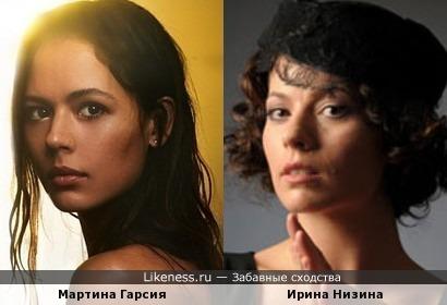 Мартина Гарсия и Ирина Низина