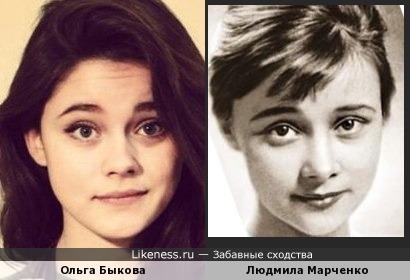 Ольга Быкова и Людмила Марченко (дубль 2)