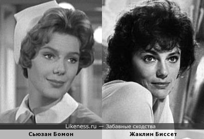 Сьюзан Бомон и Жаклин Биссет