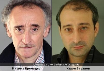 Мишель Кремадес и Карэн Бадалов