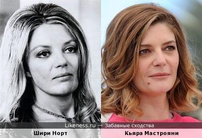 Шири Норт и Кьяра Мастрояни