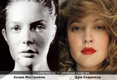 Кьяра Мастрояни напомнила Дрю Бэрримор