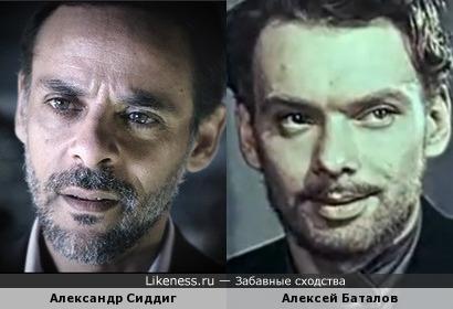 Александр Сиддиг и Алексей Баталов