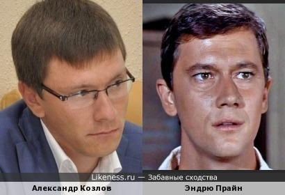 Александр Козлов (эксперт Общественной Палаты) и Эндрю Прайн