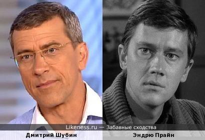 Дмитрий Шубин и Эндрю Прайн