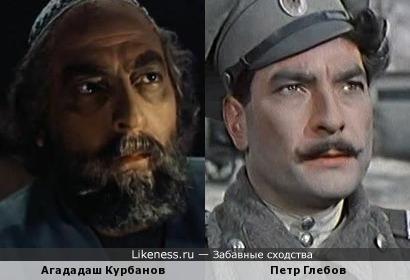 Агададаш Курбанов и Петр Глебов