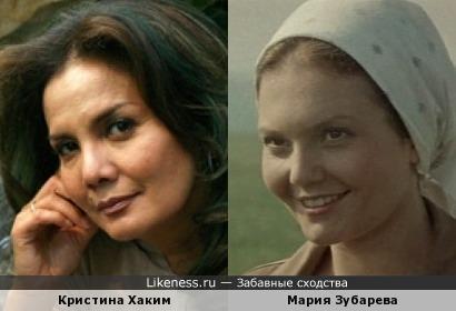 Кристина Хаким и Мария Зубарева
