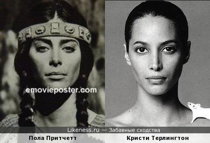 Пола Притчетт и Кристи Терлингтон