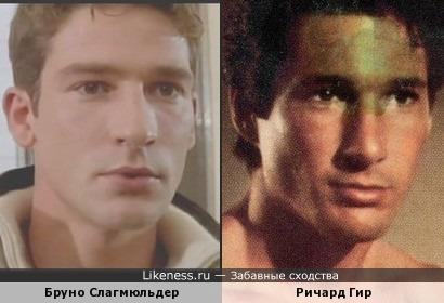 Бруно Слагмюльдер и Ричард Гир