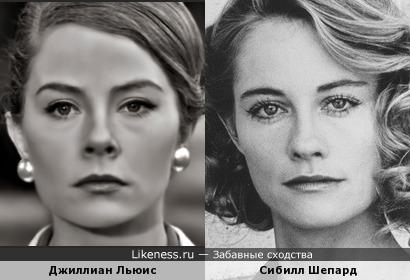 Джиллиан Льюис и Сибилл Шепард