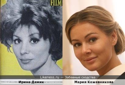 Ирина Демик и Ирина Кожевникова
