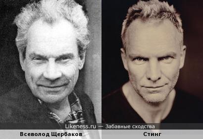 Всеволод Щербаков и Стинг