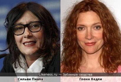 Сильви Пиала и Гленн Хедли