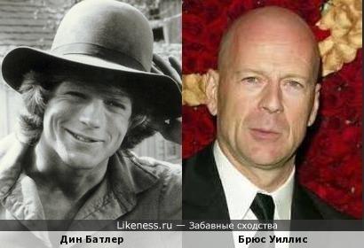Дин Батлер и Брюс Уиллис