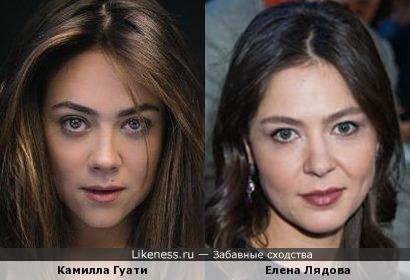 Камилла Гуати и Елена Лядова