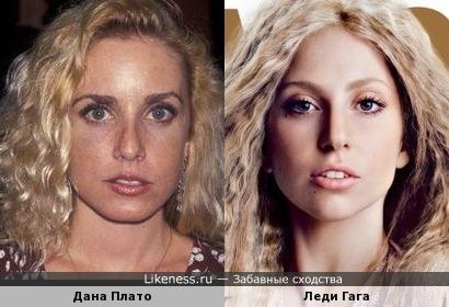 Дана Плато и Леди Гага