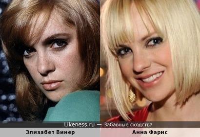 Элизабет Винер и Анна Фарис