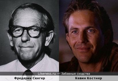 Фредерик Сенгер и Кевин Костнер