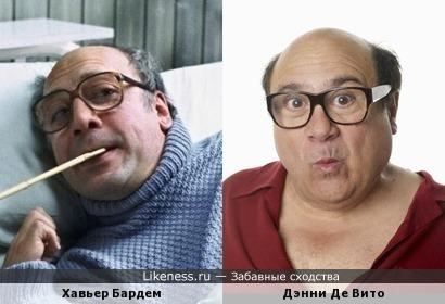 Хавьер Бардем напомнил Дэнни Де Вито