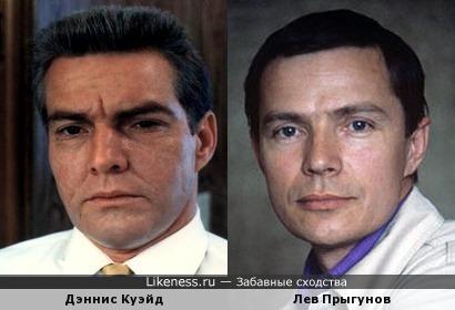 Дэннис Куэйд и Лев Прыгунов