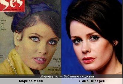 Мариса Мелл и Лине Нистрём