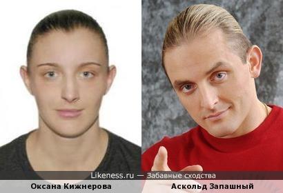 Оксана Кижнерова и Аскольд Запашный
