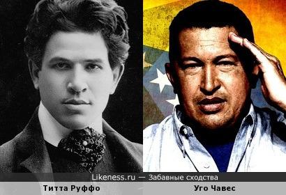 Титта Руффо и Уго Чавес