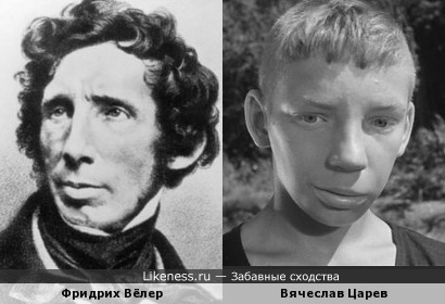 Фридрих Вёлер и Вячеслав Царев
