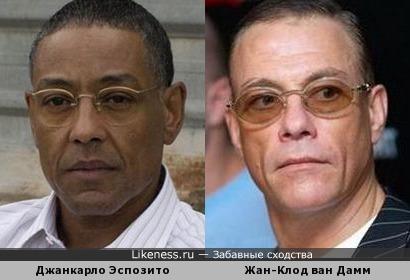 Джанкарло Эспозито и Жан-Клод Ван Дамм