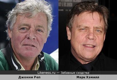 Джонни Реп и Марк Хэмилл