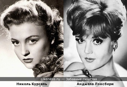 Николь Курсель и Анджела Лэнсбери