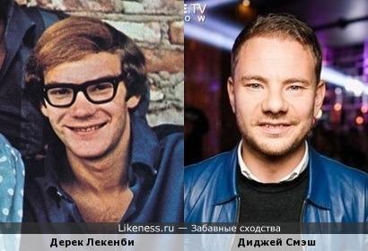Дерек Лекенби и диджей Смэш