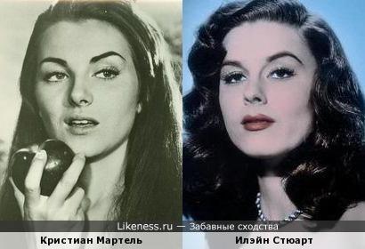 Кристиан Мартель и Илэйн Стюарт